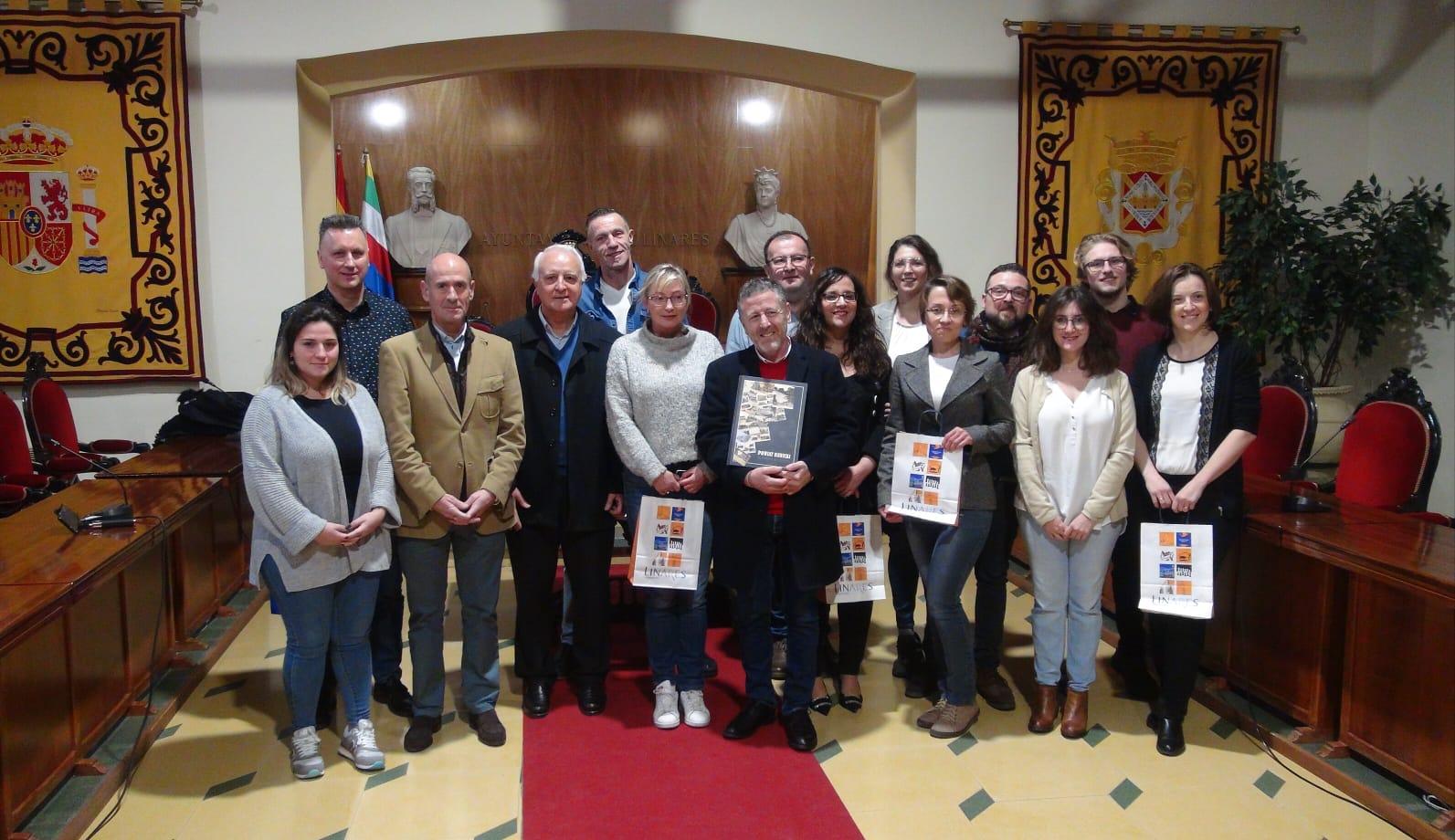 Profesorado de Polonia en el Ayuntamiento de Linares