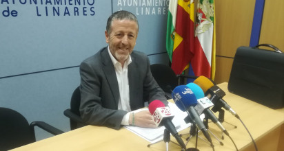 Rafael Funes durante la rueda de prensa de esta mañana.
