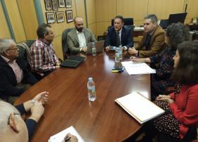 Reunión sobre la Residencia de Mayores de Linares
