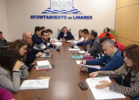 Celebración del último Pleno 2019 en Linares
